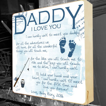 New Dad Gift, Fathers Day, Daddy To Be Gift, Baby Shower Gift