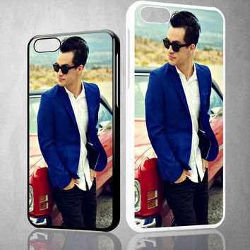 Brendon Urie Lead Vocalis X0953 iPhone 4S 5S 5C 6 6Plus, iPod 4 5, LG G2 G3 Nexus 4 5, Sony Z2 Case