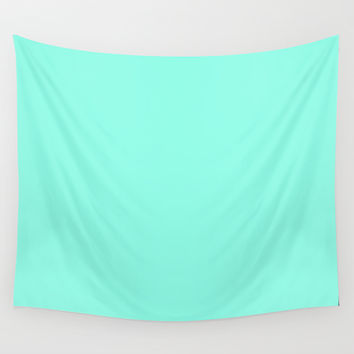 Mint Wall Tapestry by 2sweet4words Designs