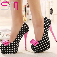 Sexy Polka Dot Pumps