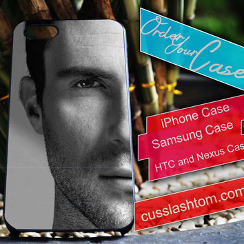 Exclusive Adam Levine iPhone for 4 5 5c 6 Plus Case, Samsung Galaxy for S3 S4 S5 Note 3 4 Case, iPod for 4 5 Case, HtC One M7 M8