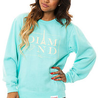 The Paris Crewneck Sweatshirt in Diamond Blue
