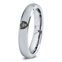 Oakland Raiders Ring Mens Fanatic NFL Sports Football Boys Girls Womens NFL Jewelry Fathers Day Gift Tungsten Carbide 015