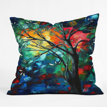 Madart Inc. Spring Blossoms Throw Pillow