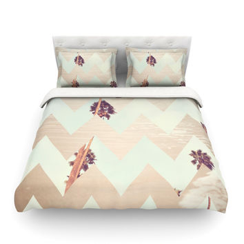 "Catherine McDonald ""Oasis"" Cotton Duvet Cover"