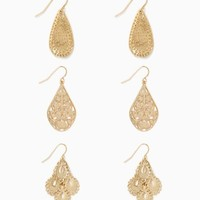 Gypsy Droplets Earring Set | Fashion Jewelry | charming charlie