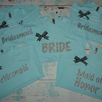 Bridesmaids Tank Tops 5. Bachelorette tank tops. Bridesmaids Shirts. Wedding tanks. wedding tank tops. bachelorette party. bridesmaids tanks