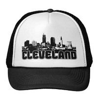 Cleveland Skyline Trucker Hat