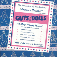 Guys and Dolls Broadway Play Souvenir Book