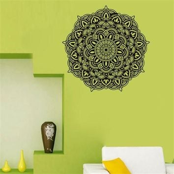 Waterproof Mandala Art Wall Sticker [9357009348]