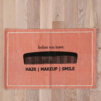 Urban Outfitters - Hair/Makeup/Smile Welcome Mat