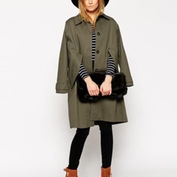 ASOS Trench Cape