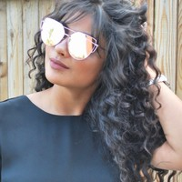 GIGI Mirrored Color Tinted Lens Sunglasses (4 colors available)