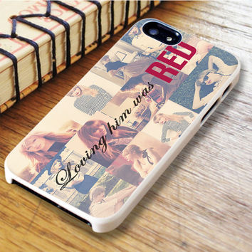 Loving Him Was Red Taylor Swift Singer Cover Album Music iPhone 6 | iPhone 6S Case