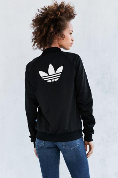 44406b3c813e adidas Originals Supergirl Track Jacket from Urban Outfitters