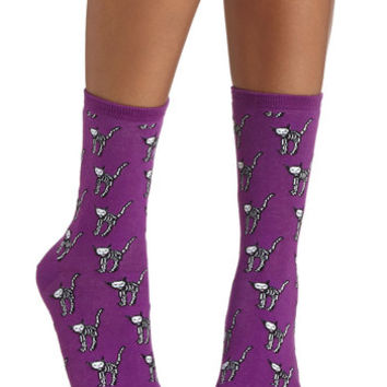 Cat-stume Party Socks | Mod Retro Vintage Socks | ModCloth.com
