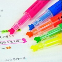 10 Pcs/ Lot Multi Tip Marker Mix Color