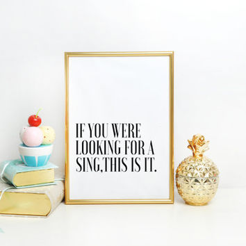 PRITABLE ART Help Yourself Toiletries Sign Wedding Bathroom Sign - You Look Oh So Pretty Now Get Out and DANCE- Wedding Reception Signage