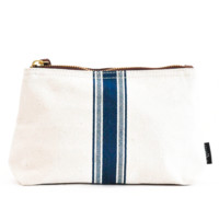 Travel Pouch - Blue Stripe