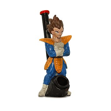 Resin Pipe - Blue/Yellow Saiyan