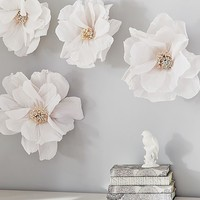 Crepe Paper Flower Decor Set | Pottery Barn Kids