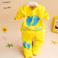 High Quality 100% Cotton Baby Clothing Set Toddler Boys Girls Summer Clothes sets 6232 - Default