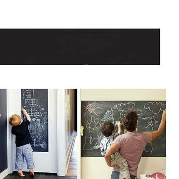 Creative Chalkboard Removable Blackboard Wall Stickers for Kids