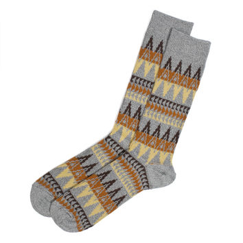 Anonymous Ism Navajo Print Grey