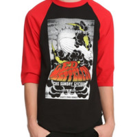 Led Zeppelin Blimp Raglan