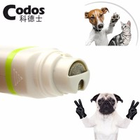 2016 2 in 1 Codos Pet Dog Cat Hair Trimmer Paw Nail Grinder Grooming Clippers Nail Cutter Hair Cutting Machine CP-5200