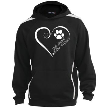 Soft Coated Wheaten Terrier, Always in my Heart  Colorblock Sweatshirt