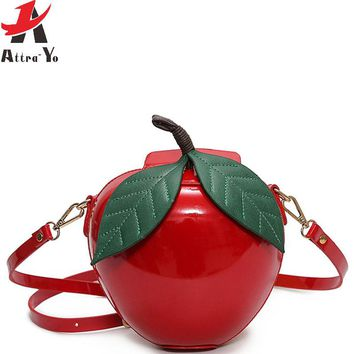 women messenger bags fruit clutch in shoulder bag high quality handbag fashion female tote summer style