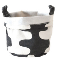 Echo Recycled Canvas Bucket (Charcoal)