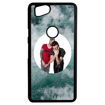 Twenty One Pilots Josh Dun And Tyler Joseph Google Pixel 2 Case