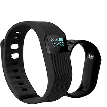 Bluetooth Sync Smart Bracelet Smart Watch Sports Sleep Tracking Health Fitness Pedometer for IOS Android Phones +Gift Box