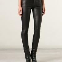 Helmut Lang Skinny Trousers - Layers - Farfetch.com