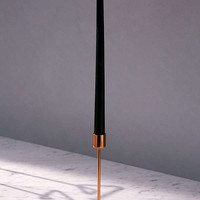 Emma Tall Triangle Taper Candle Holder | Urban Outfitters