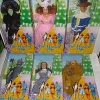 Lot Of Six Vintage Wizard Of Oz Dolls