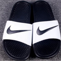 NIKE Women And Men Casual  Fashion Sandal Slipper Shoes
