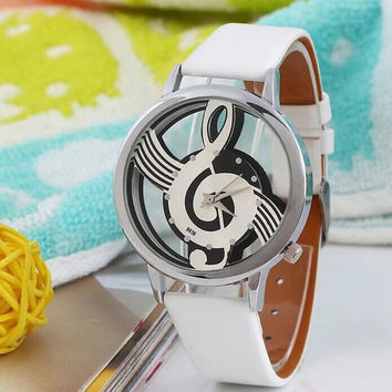 Music Notes Watch Gift