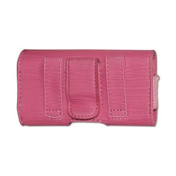 HORIZONTAL POUCH HP1025A MOTOROLA V9 HOT PINK 4X0.5X2.1 INCHES: Case Of 120