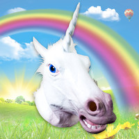 Famous Magical Unicorn Mask at Firebox.com