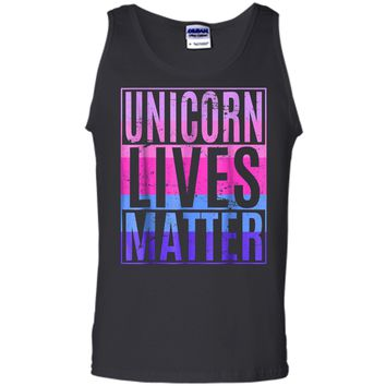 Unicorn Lives Matter Funny Gift  Tank Top