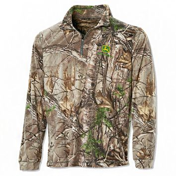 John Deere Realtree® Dri-Duck Performance Fleece - Sweatshirts & Hoodies - Men's | RunGreen.com