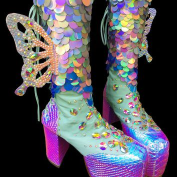Moonage Daydreamer Boots