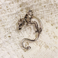 DRAGON EAR CUFF for Pierced Left Ear inspired by Game of Thrones