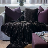 Faux Fur Bed Coverlet | Grizzly