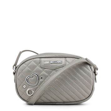Love Moschino Grey Crossbody Bag