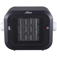 HUNTER PC-003BK Retro Ceramic Space Heater (Black)