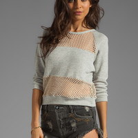 Lovers + Friends Do It Sweater in Grey from REVOLVEclothing.com